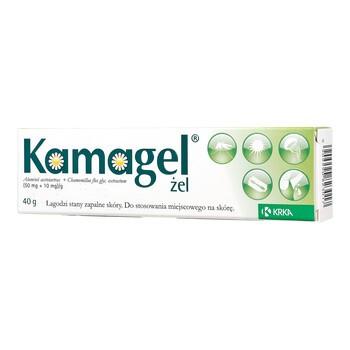 Kamagel, (50 mg + 10 mg)/g, żel, 40 g (tuba)