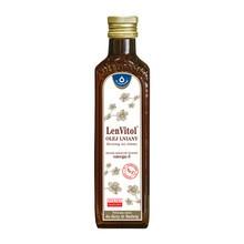 LenVitol olej lniany, tłoczony na zimno, 250 ml