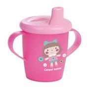 Canpol Babies, kubek niekapek Toys, kolor różowy, 250 ml