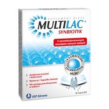 Multilac, kapsułki, synbiotyk, 20 szt.