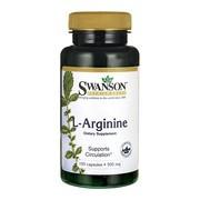 L-arginina, kapsułki, 100 szt.