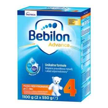 Bebilon 4 Pronutra-Advance, mleko modyfikowane w proszku, 1100 g