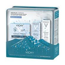 Zestaw Promocyjny Vichy Aqualia Thermal, bogaty krem nawilżający na dzień, 50 ml + serum intensywne i długotrwałe nawilżenie, 3 ml GRATIS + booster wzmacniająco-nawilżający Minéral 89, 10 ml GRATIS