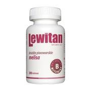 Lewitan Melisa, tabletki, 200 szt.