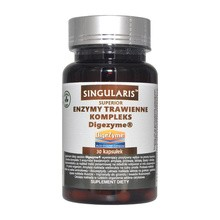 Singularis Enzymy trawienne Digezyme, 150 mg, kapsułki, 30 szt.