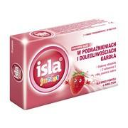 Isla junior, pastylki do ssania, o smaku truskawkowym, 20 szt.
