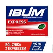 Ibum Express, 400 mg, kapsułki miękkie, 36 szt.