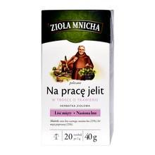 Zioła Mnicha polecane Na Pracę Jelit, fix, 2 g, 20 szt.