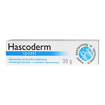 Hascoderm lipożel, żel do pielęgnacji skóry trądzikowej, 30 g