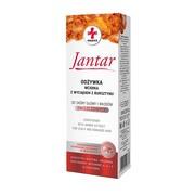 Jantar Medica, odżywka-wcierka z wyciągiem z bursztynu, do skóry głowy i włosów zniszczonych, 100 ml
