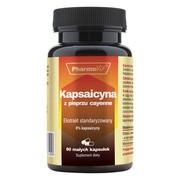 Pharmovit Kapsaicyna z pieprzu cayenne, kapsułki, 90 szt.