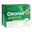 Orofar Junior (Orofar Total Action), tabletki do ssania, 24 szt.
