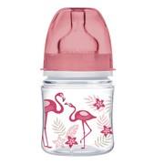 Canpol Easy Start Jungle, butelka szerokootworowa, antykolkowa, koral, 120 ml