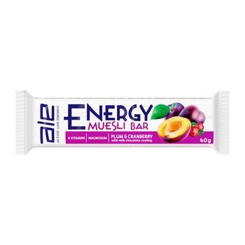 ALE Active Life Energy Muesli Bar Plum & Cranberry, baton, 40 g
