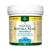 Herbamedicus, szwajcarska maść końska, chłodząca, 250 ml + 50 ml GRATIS