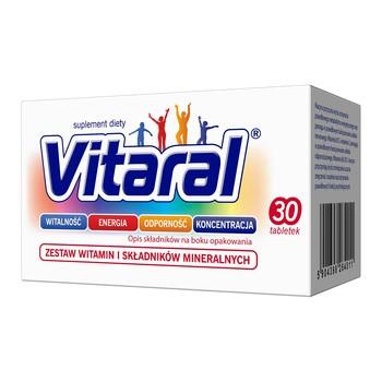 Vitaral, tabletki powlekane, 30 szt.