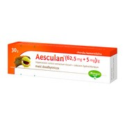Aesculan, maść doodbytnicza, 30 g