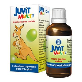 Juvit Multi, krople doustne, 10 ml