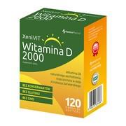 XeniVIT Witamina D 2000, kapsułki miękkie, 120 szt.