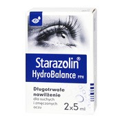 Starazolin HydroBalance PPH, krople do oczu, 2 x 5 ml