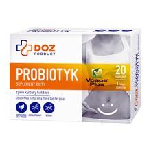 DOZ PRODUCT Probiotyk, kapsułki, 20 szt.