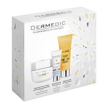 Zestaw Promocyjny Dermedic Oilage, krem na dzień, 50 ml + krem pod oczy, 7 ml + syndet do mycia twarzy, 25 ml