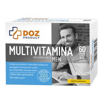 DOZ PRODUCT Multivitamina Men, tabletki powlekane, 60 szt.