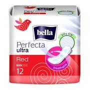 Bella Perfecta Ultra Red, podpaski higieniczne, 12 szt.