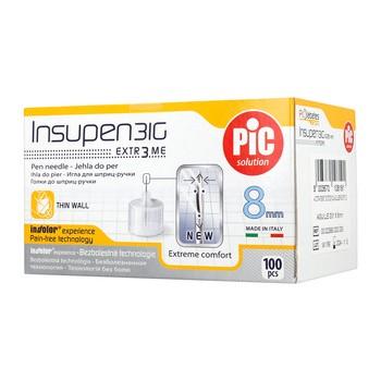 Insupen, igły do wstrzykiwań insuliny, 31G x 8 mm, 100 szt.