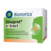 Sinupret extract, 160 mg, tabletki drażowane, 20 szt.