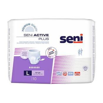 Seni Active Plus, majtki chłonne, rozmiar L, 10 szt.