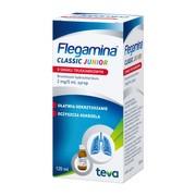 Flegamina Junior o smaku truskawkowym, (2 mg / 5 ml), syrop, 120 ml