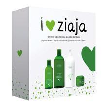 Zestaw Promocyjny Ziaja Oliwkowa, mydło pod prysznic, 500 ml + mleczko do ciała, 400 ml + krem, 50 ml + płyn micelarny, 200 ml