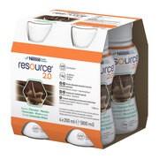 Resource 2.0, płyn o smaku czekolada, mięta, 4 x 200 ml