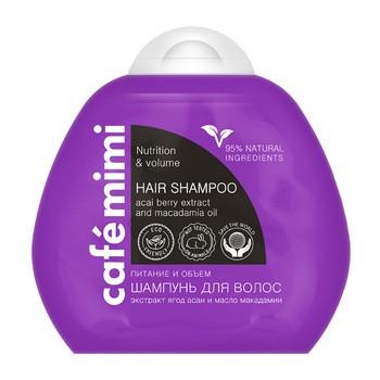 Cafe mimi, szampon do włosów, objętość i odżywienie, 100 ml