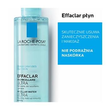 La Roche-Posay Effaclar, płyn micelarny, 400 ml
