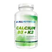 Allnutrition Calcium D3+K2, kapsułki, 90 szt.