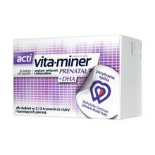 Acti Vita-miner Prenatal DHA, tabletki, 30 szt. + kapsułki, 30 szt.