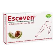 Esceven, tabletki powlekane, 167 mg, 40 szt.