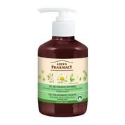Green Pharmacy, normalizujący żel do higieny intymnej, drzewo herbaciane, nagietek, 370 ml