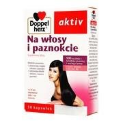 Doppelherz aktiv Na włosy i paznokcie, kapsułki, 30 szt.