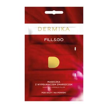 Dermika Fill & Go, maseczka przeciwzmarszczkowa pod oczy i na powieki, 3 x 2 ml