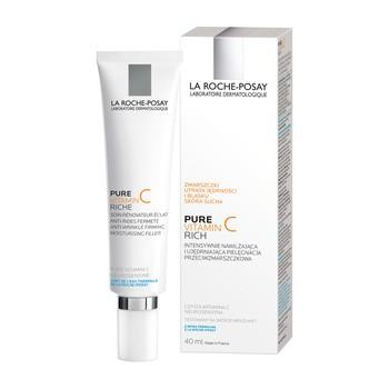 La Roche-Posay Redermic C, krem wypełniający zmarszczki, intensywnie ujędrniający dla skóry suchej, 40 ml