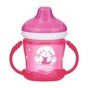 Canpol Babies, kubek niekapek, Sweet Fun, różowy, 9 m+, 180 ml