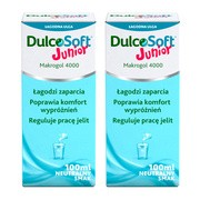 Zestaw 2x DulcoSoft Junior, roztwór doustny, 100 ml