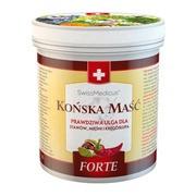 Herbamedicus SwissMedicus, szwajcarska maść końska Forte, rozgrzewająca, 500 ml