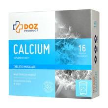 DOZ PRODUCT Calcium, tabletki musujące, 16 szt.