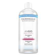 Dermedic Angio Preventi, płyn micelarny H2O, 500 ml