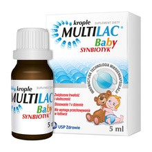 Multilac Baby, krople, synbiotyk, 5 ml