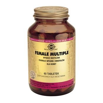 Solgar Female Multiple dla kobiet, tabletki, 60 szt.